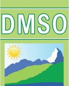 DMSO - Dimethylsulfoxid 2%, 30ml Braunglas mit Pipettenmontur